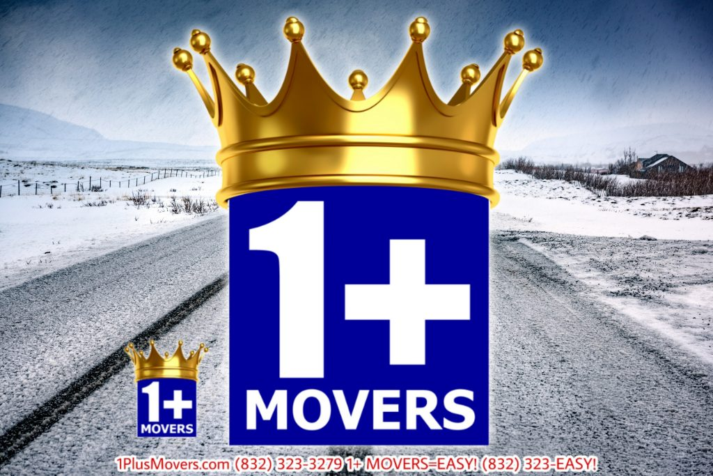 1Plus moving in cold weather Winter Logo
