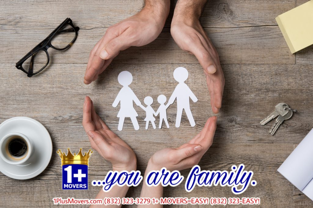 you are family cutout moving