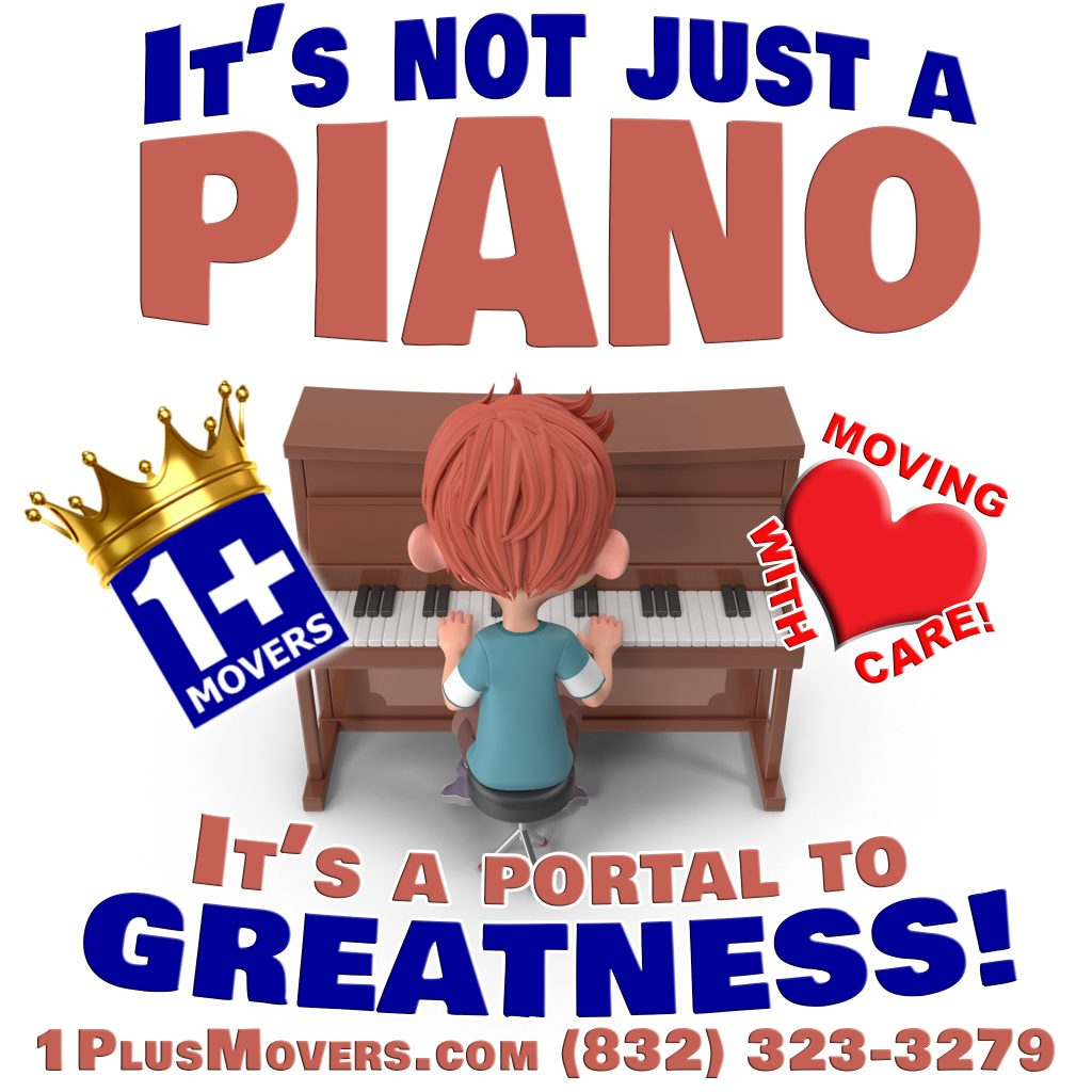Piano Movers in Houston Texas, Clear Lake Texas, Seabrook TX, Taylor Lake Village TX, El Lago TX