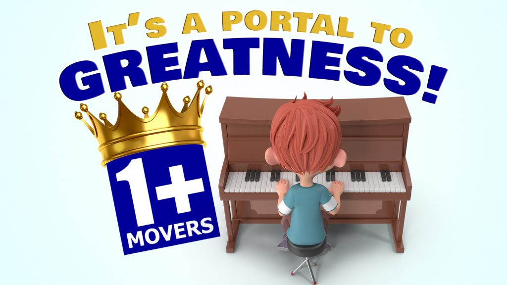 Portal To Greatness Piano Movers 1920