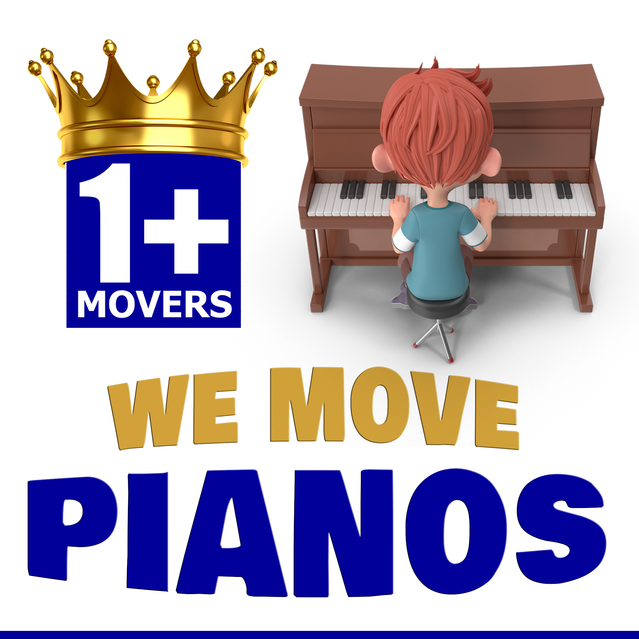 we move pianos Boy Playing Piano Movers Moving Company