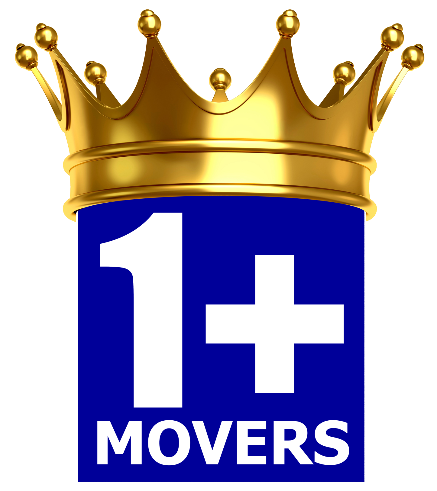 1+MOVERS Moving Company Logo