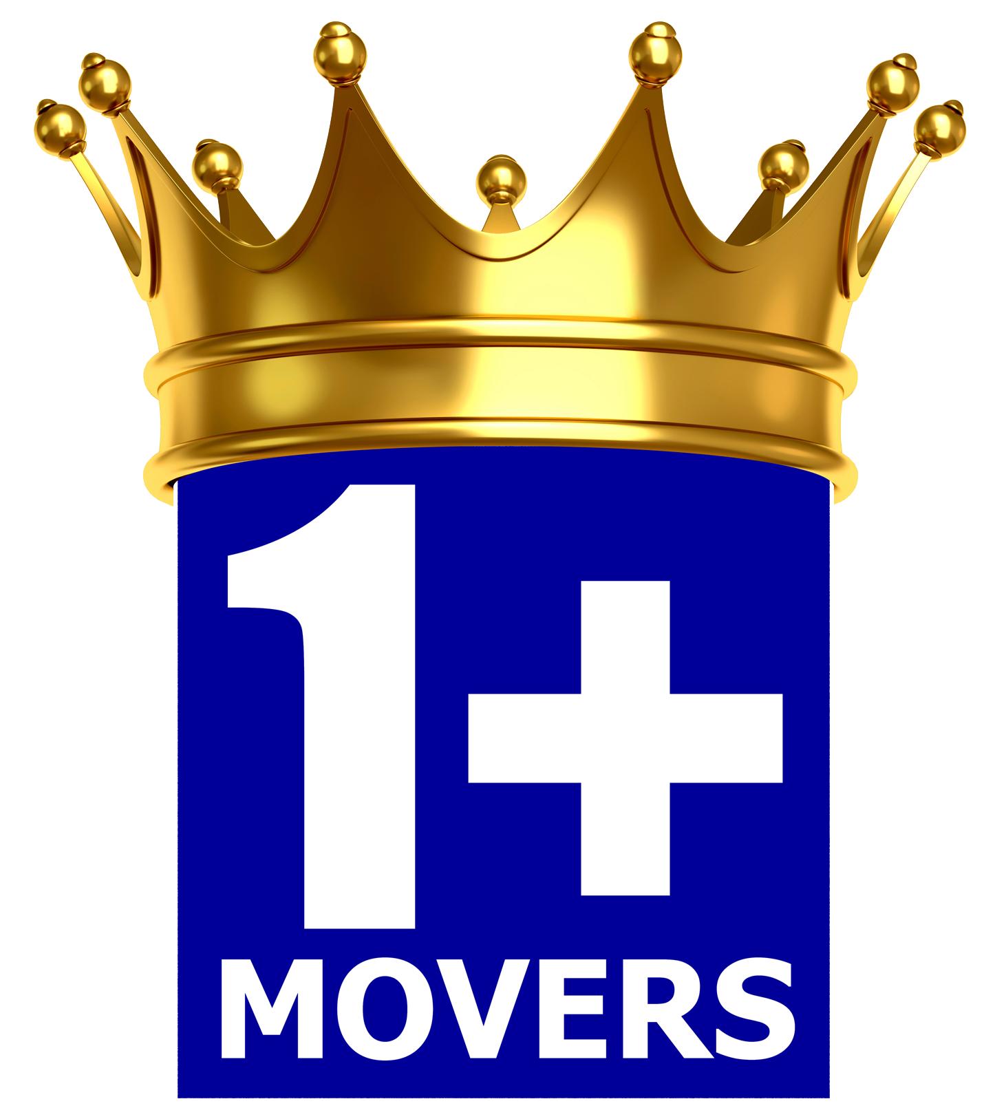 1+MOVERS Moving Company Logo