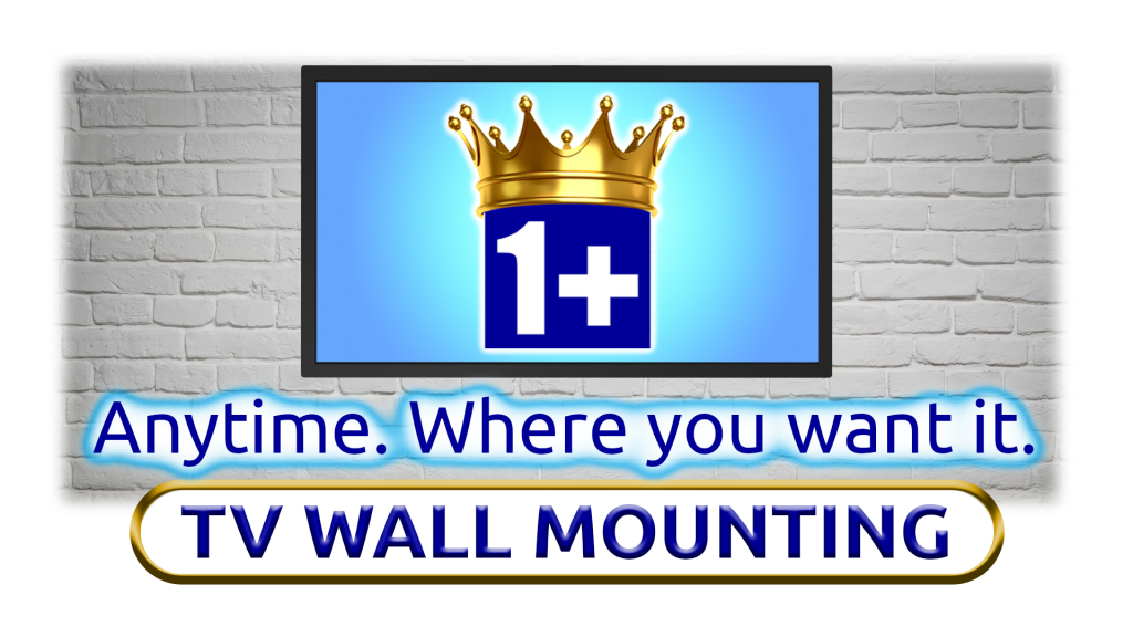 Image Of Flat Screen Wall Mounting By 1+Movers