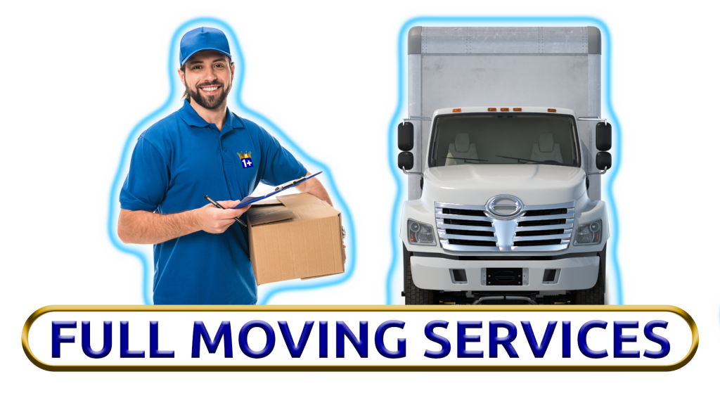 Image Of Full Moving Services Which Include Our Expert Movers And A Moving Truck.