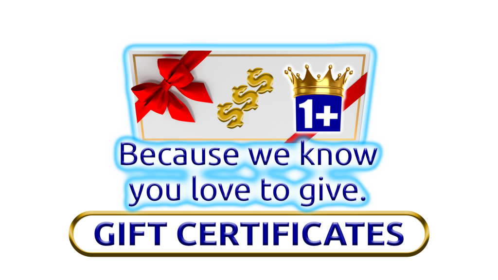 Image Of Gift Certificates By 1+Movers