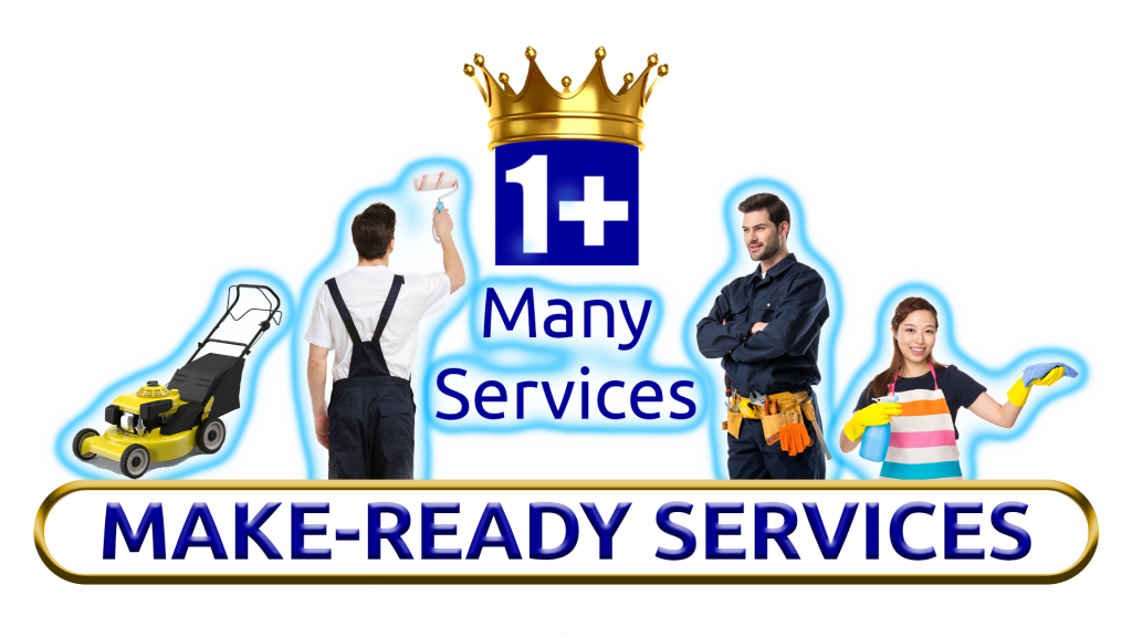 Image Of Make Ready Services Like Cleaning, Painting, Landscaping By 1+Movers