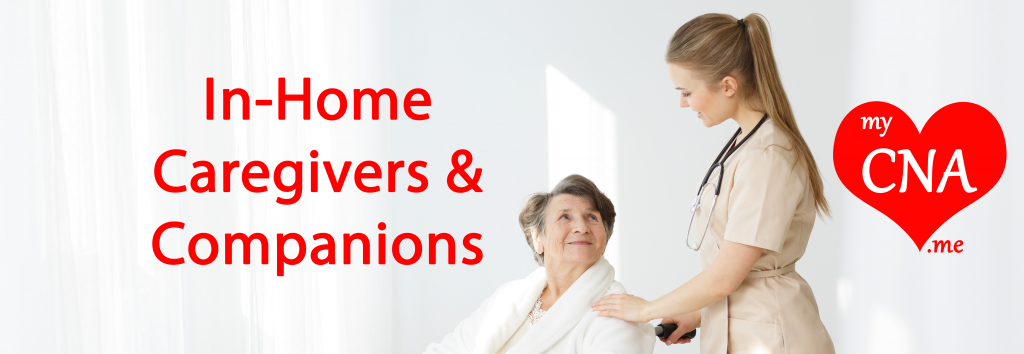 Image Of My Cna .Me Offers In Home Caregivers And Companions For Elderly And Disabled Banner By 1+Movers